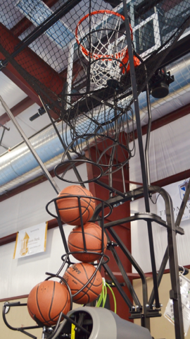 dr dish basketball shooting machine